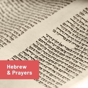 Hebrew Prayer For Beginners @ Rabbi's House