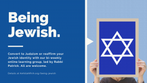 Being Jewish: Weekly Class @ Online